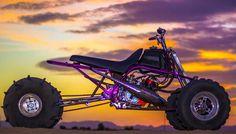 Purple Power Yamaha Banshee: Modded Mondays - ATV.com