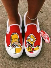- Women's style: Patterns of sustainability Custom Vans Shoes, Custom Painted Shoes, Custom Sneakers, Painted Vans, Vans Shoes Fashion, Painted Sneakers, Aesthetic Shoes, Hype Shoes, Fresh Shoes