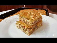 ΚΙΜΑΔΟΠΙΤΑ!! - YouTube Mincemeat Pie, Mince Meat, Greek Recipes, Apple Pie, Lasagna, Appetizers, Yummy Food, Breakfast, Ethnic Recipes