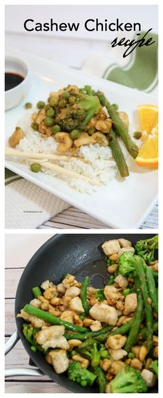 This Crock Pot Cashew Chicken is so delicious! You can also adapt the recipe to be made as a traditional Cashew Chicken Stir Fry as well.