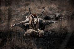 Shaman, Pagan, Black Forest Forge by Katarzyna Mikołajczak Photography from The Wild Horny Goat Viking Life, Viking Warrior, Norse Pagan, Norse Mythology, Pagan Men, Norse Symbols, Feral Heart, Viking Quotes, Grandeur Nature