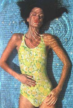 Janice Dickinson Barry Lategan the Great Bahama 1975 Bathing Suits Bahama Barry Dickinson great Janice Lategan 70s Fashion, Vintage Fashion, Mode Poster, Janice Dickinson, Estelle Lefébure, Swimsuits, Bikinis, Swimwear, Natalia Vodianova