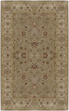 Surya Crowne Crowne 6010 Beige Rug | Traditional Rugs