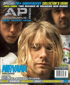 Nirvana, magazine cover, 1991