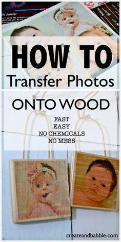 Photos on Wood
