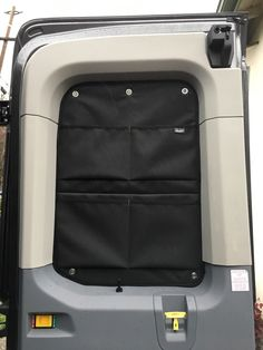 Insulated Window Covers - Ford Transit USA Forum Ford Transit Conversion, Camper Conversion, Transitional Living Rooms, Transitional House, Transitional Lighting, Ford Transit Camper, Volkswagen, Slider Door, Van Dwelling