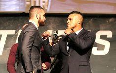 Chris Weidman X Vitor Belfort, Encarada UFC (Foto: Evelyn Rodrigues)
