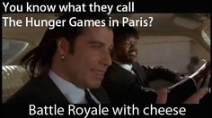 This is only funny if you've seen Battle Royale.