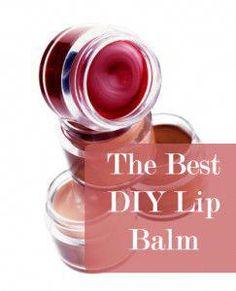 The Best DIY Lip Balm. Tips, tricks and recipes for DIY lip balm. #EyelinerTricks