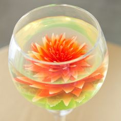 I shall turn this into a jello shot that is (almost) too pretty to drink.