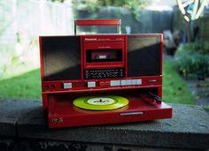 toca fita-disco, Panasonic. via deadfix