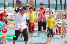 Holiday Inn Resort - Panama City Beach Hotel - Pirate Swim Camp for the kids!