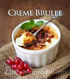 Classic Creme Brulee Recipe – Food Recipes