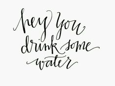 It's important to drink water and stay hydrated when doing busy activities. A good way to remember is by adding infused water to your daily routine! It will help you stay energized and feeling fantastic! Motivacional Quotes, Funny Quotes, Post Quotes, Life Quotes, Drink More Water, Drink Water Quotes, Infused Water, Note To Self, Fitness Quotes
