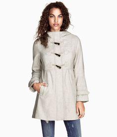 Duffle jacket: H&M