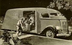 REO advertisement, 1937 Diesel Punk, Antique Trucks, Antique Cars, Shop Truck, Mechanical Art, Panel Truck, Cab Over, Vintage Vans, Hot Rides