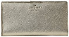 Kate Spade New York Mikas Pond Stacy Wallet,Gold,one size kate spade new york,http://www.amazon.com/dp/B004SGN536/ref=cm_sw_r_pi_dp_32qmsb0YE6GGJQK7