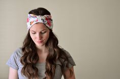 Several DIY turban and headband tutorials.