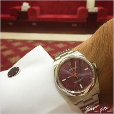 11th of August 2015 #TuesdayWatch  #Qatar #Doha #watch #watches #watchaholic #rolex #oyster #perpetual #purple #maron #dunhill #cufflinks #majles #steel #summer #summerwatch #summer_colors #summerwatches #womw #MONDANI  #w_qtr_ by w_qtr_