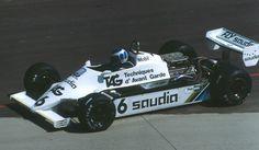 f1 El papá de Nico, Keke, en Long Beach 1982 a bordo de un Williams.