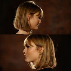 Karlie Kloss – the Karlie Cut – – You are in the right place about hair bangs bob Here we offer you the most beautiful pictures about the hair bangs shoulder length you are looking for. When you examine the Karlie Kloss – the Karlie Cut – – part … Short Hair With Bangs, Hairstyles With Bangs, Short Hair Cuts, Cool Hairstyles, Hair Bangs, Haircuts, Face Hair, Balayage Hair, Hair Lengths