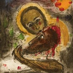 Bohuslav Reynek Pieta IV .. Christian Art, Auction, Scene, Modern, Artwork, Artist, Painting, Mary, Trendy Tree