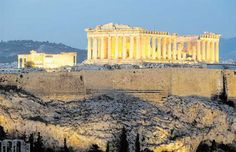 Parthenon is the greatest temple of ancient Greece designed by the architects Ictinus and Kallikrates and sculptured by Phidias. Parthenon Athens, Acropolis, Greece Design, Ancient Greece, Oh The Places You'll Go, Natural Beauty, Trips, Wanderlust, Bucket
