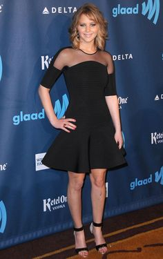 Jennifer smiles at the GLAAD festival in Los Angeles on April 20, 2013. Getty Images -Cosmopolitan.com