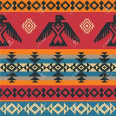 native american geometric eagle - Google Search