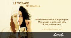 De transnationale reis van Khadija al Mourabit via @heididorudi
