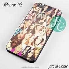 Demi Lovato collage Phone case for iPhone 4/4s/5/5c/5s/6/6 plus