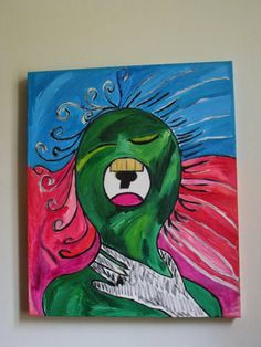 My Art: My Shout 50 x 60 Acrylic 2009