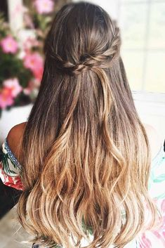 Super Long And Romantic ❤️ A headband braid, also known as a crown or a halo braid, is a cute half updo or updo hairstyle with a braid around a head. And as for the type of a braid involved, any braid would do here. Make a choice based on your taste. ❤️ See more: http://lovehairstyles.com/cute-headband-braid-hairstyles/ #lovehairstyles #hair #hairstyles #haircuts #headbandbraid #braids