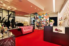Christian Louboutin boutique in Tokyo by Luxur Cobbler 212box