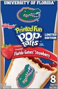 Florida Gators Pop Tarts..already have them and they're delicious!