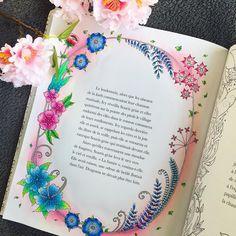 """218 Likes, 11 Comments - Christina Coloring ✨ (@christinacoloring) on Instagram: """"Premier coloriage du nouveau livre de Johanna Basford de Ivy et le papillon d'encre J'ai osé le…"""""""