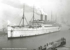 Canadian Pacific liner Empress of Scotland