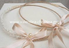 Χειροποίητα στέφανα γάμου απο σκοινί και πέρλα,στέφανα γάμου απλά vintage καλέστε.2105157506 κωδικός.ΘΧΣΤ/13