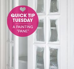 """IHeart Organizing: Quick Tip Tuesday: A Painting """"Pane"""""""
