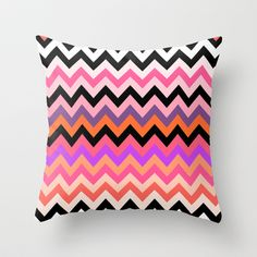 Tiger's Ice Cream Throw Pillow by Ornaart - $20.00