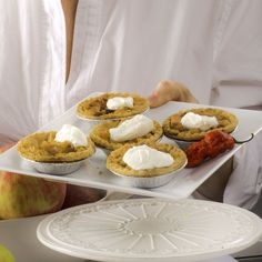 Tartelettes pommes-rhum