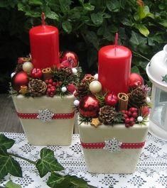 Vánoční svícny se sněhovou vločkou / Zboží prodejce Silene | Fler.cz Christmas Decorations, Table Decorations, Advent, Lily, Candles, Home Decor, Amor, Xmas, Noel