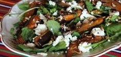 Салат из жареных баклажанов с фетой и кедровыми орешками – Вся Соль - кулинарный блог Ольги Баклановой