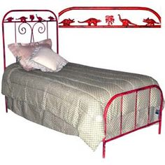 Kids Standard Bed W/ Dinosaurs