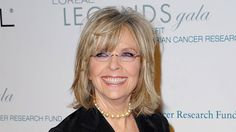 """Diane Keaton as first diagnosed with skin cancer — basal cell carcinoma — when she was 21. """"Did I ever wear sunblock? Never,"""" she said at a recent L'Oreal Paris event. """"I was always trying to tan."""" Keaton also had a squamous cell tumor removed from her face, which left a scar."""