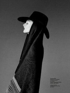 ///Daga Ziober   Fashion Magazine Poland December 2011