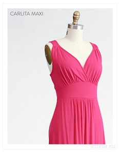 Love the top of this dress and color!  Possible idea for weddings in May and July