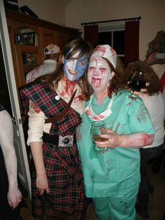 Zombies Halloween party