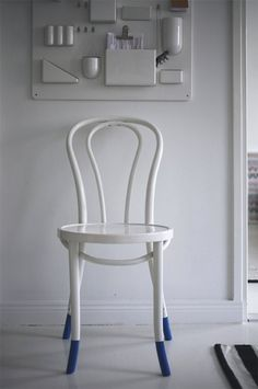 paint-dipped chair legs