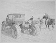 The Oral History Of An Amazing 1930 Ford Model A Off-Road Mail Truck